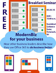 Register now for FREE Office 365 Seminar