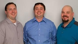 Daystar founding brothers - Dan, Keith, and Eric Bamford